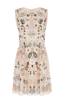 Needle & Thread - Floral Cluster Mini Dress