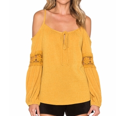 Vava by Joy Han - Joanne Open Shoulder Top