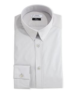 Versace  - Button-Front Solid Dress Shirt