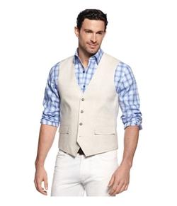 Tasso Elba - Linen Four Button Vest