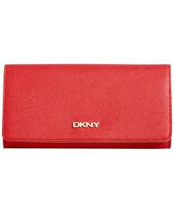 DKNY - Saffiano Leather Large Carryall Wallet