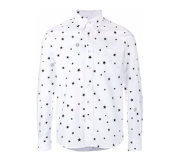 Uniform Experiment - Star Print Long Sleeve Shirt