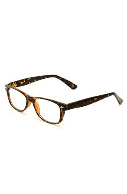 King Ice  - Tortoise Frame Clear Lens Eyeglasses