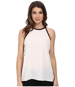 Vince Camuto - Sleeveless Back Tie Halter Blouse