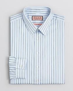 Thomas Pink  - Leintaigne Stripe Dress Shirt - Slim Fit