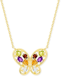Victoria Townsend  - Accent Butterfly Necklace