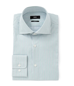 Hugo Boss - Miles Sharp-Fit Spread-Collar Dress Shirt