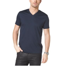 Michael Kors - V-Neck Cotton T-Shirt