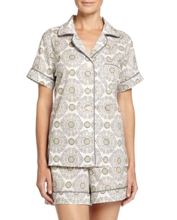Bedhead  - Medallion Shorty Pajama Set