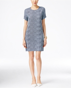 Michael Kors - Printed Shift Dress