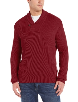 Alex Cannon - Ribbed Shawl Collar Sweater