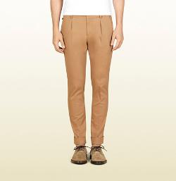 Gucci - Washed Stretch Cotton Riding Pant