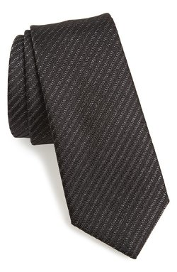 Yves Saint Laurent - Woven Silk Blend Tie