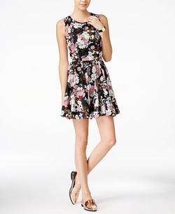 Maison Jules - Meadow Floral-Print Fit & Flare Dress