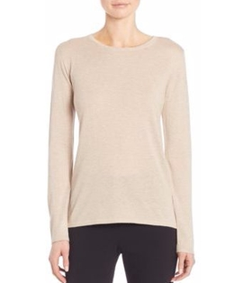 Max Mara - Adone Silk & Cashmere Pullover Sweater