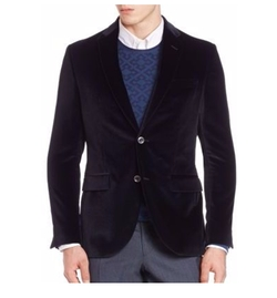 Saks Fifth Avenue Collection - Velvet Sportcoat