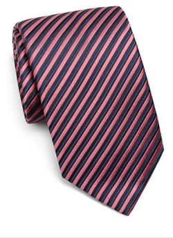 Charvet Striped  - Silk Tie