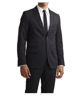 Jack Threads - Goodale Classic Black Two Button Blazer