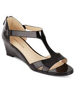 Adrienne Vittadini - Cissy Mid Wedge Sandals