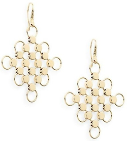 John Hardy  - Square Drop Earrings