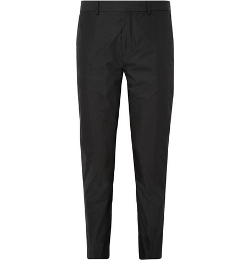 Acne Studios   - Aaron Slim-fit Cotton-Blend Poplin Dress Pants