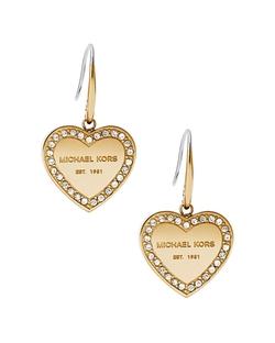 Michael Kors - Heritage Heart Drop Earrings