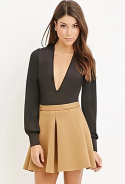 Forever 21 - Pleated Scuba Knit Skirt