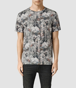 All Saints - Dens Crew T-Shirt