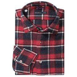 Mason's - Brushed Cotton Multicolor Plaid Shirt