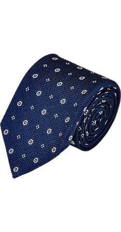 Uman - Medallion Grenadine Neck Tie