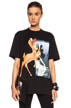 Givenchy  - Bambi Cotton T-Shirt