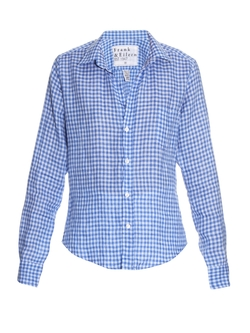 Frank & Eileen  - Barry Gingham Linen Shirt