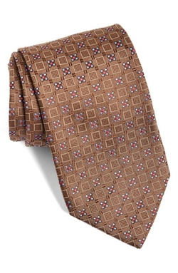 David Donahue - Geometric Silk Tie
