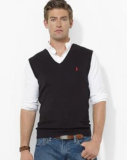 Polo Ralph Lauren  - Pima Cotton Sweater Vest