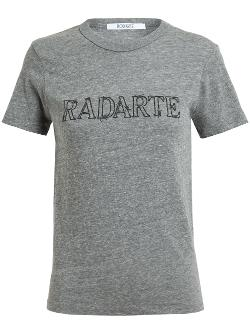 RODARTE  - Barbed Wire Radarte Printed T-shirt