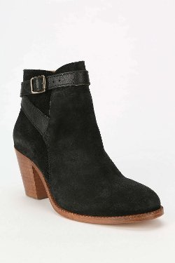 H By Hudson - Suede Heeled Ankle Boots