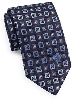Versace  - Square Medusa Silk Tie