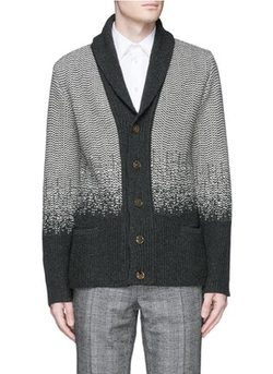 Boglioli - Shawl Collar Wool-Cashmere Cardigan Sweater