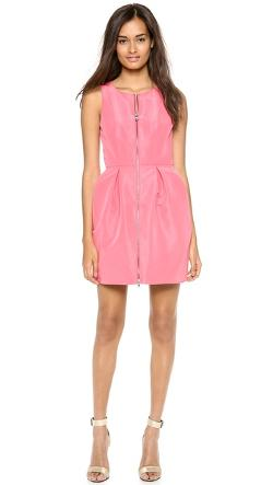 Tibi - Silk Faille Sleeveless Dress