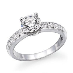 ND Outlet - Engagement - Round Diamond Solitaire Engagement Ring