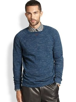 Vince  - Wool Blend Crewneck Sweater