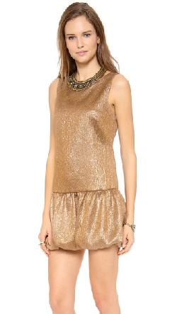 Twelfth St. by Cynthia Vincent  - Embellished Drop Waist Dress