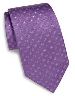 English Laundry - Neat Medallion Silk Tie