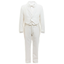 Aletta - Ivory 5 Piece Tailcoat Suit