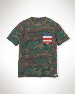 Ralph Lauren - Camouflage Cotton Pocket Tee