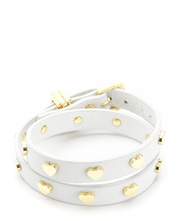Juicy Couture - Heart Studded Double Wrap Bracelet