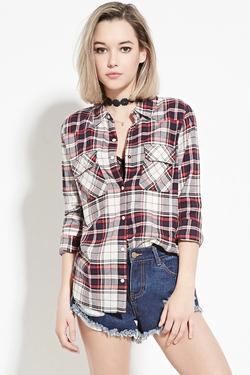 Forever21 - Plaid Flannel Shirt