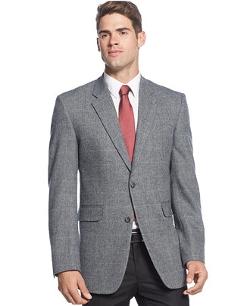 Nautica - Grey Herringbone Sport Coat