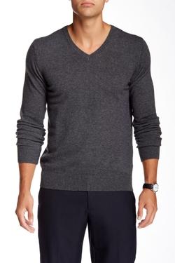 J. Lindeberg - V-Neck Kashmerino Sweater