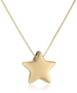 Amazon Curated Collection - Box Chain Adjustable Star Pendant Necklace